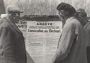 France First Vote Agricultural Organization Photo 1970