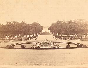 Versailles Castle Second Empire Old Plaut Photo 1860