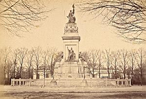 Den Haag National Monument Netherlands old Photo 1890