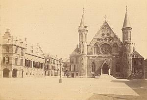 Den Haag Lottery House Place Netherlands old Photo 1890