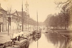 Den Haag Princessengracht Netherlands old Photo 1890