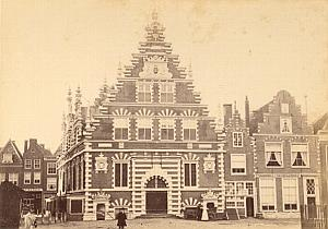 Haarlem Halle Animated Netherlands old Photo 1890
