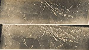 Val d'Ornain Railway WWI Military Aerial Photo 1918