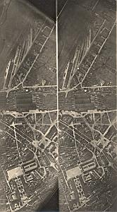 Moselle Metz Railway WWI Military Aerial Photo 1918