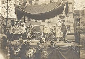 France Paris Boeuf Gras Dunois I Parade Old Photo 1908