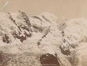 Alpes Mont Blanc Ice Planpraz Panorama Old Photo 1890