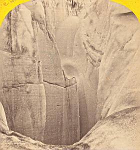 Alpes Mont Blanc Glacier Animated Old Stereo Photo 1869