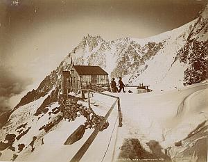 Alpes Mont Blanc Janssen Observatory Old Photo 1890