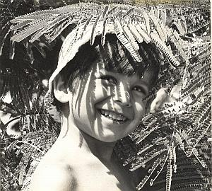 Israel Amiram Young Boy Old Maziere Photo 1965
