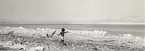 Israel Dead Sea Amiram Young Boy Old Maziere Photo 1965