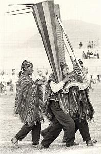 Peru Titicaca Lake Inca Indian Music Decool Photo 1970