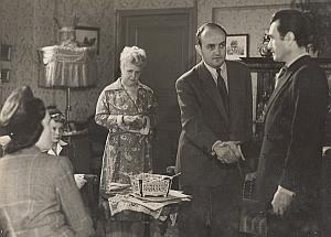 Actor Blier Retour a la Vie France Old Film Photo 1949