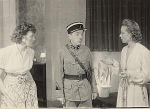 Actor Robert Blome France Old Theater Photo 1942
