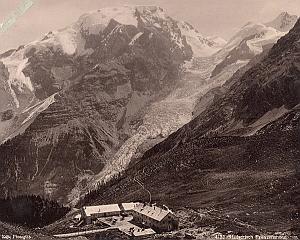 Italy Alpe Mountain Stillserjoch Franzen Old Photo 1890