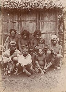 Madagascar Tamatave Family Tananarive Betsimisaraka Old Perrot Photo 1900