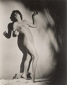 Great Britain Risque Nude Mathea Merryfield Walter Bird Photo 1935