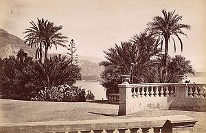 French Riviera Monte Carlo Casino Panorama old Jean Gilletta Photo 1880