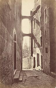 Italy Sanremo Old Town Vecchi Street Old Jean Gilletta Photo 1880'