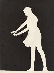Body Shadow Unusual Artistic Study Old Photo 1970'