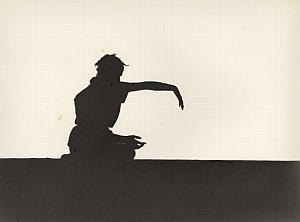 Body Shadow Unusual Artistic Study Old Photo 1970'