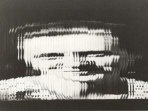 Woman Head Unusual Artistic Study Old Photo 1970'