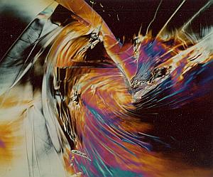 Psychedelic Unusual Polarization Distorsion Photo 1970'