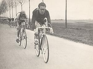 France Cycle Race GP de l'Humanité Old Photo 1947