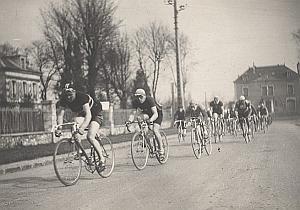 France Cycle Race GP de l'Humanité Old Photo 1947