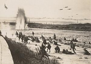 WWII World War Japan Shelling Propaganda Photo 1942