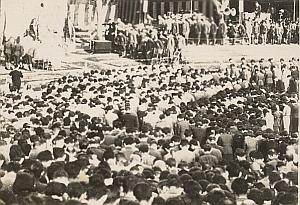 WWII World War Japan Ceremony Propaganda Photo 1942