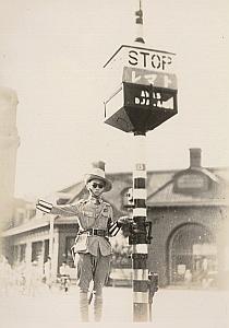 WWII World War Japan Police Propaganda News Photo 1942