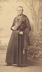 Mgr Chalandon Aix Provence ArchBishop CDV Photo 1860