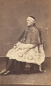 M Lecourtier Montpellier Bishop Catholic CDV Photo 1860