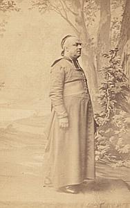 Mgr Vibert Maurienne Bishop Catholic CDV Photo 1860