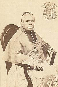 Mgr Meirieu Digne Bishop Catholic CDV Photo 1860