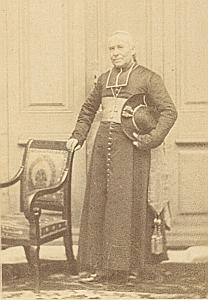 Mgr Jordany Frejus Bishop Catholic CDV Photo 1860