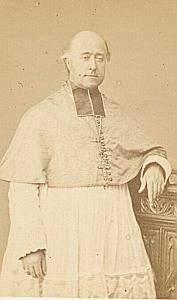 Mgr Gueulette Valence Bishop Catholic CDV Photo 1860