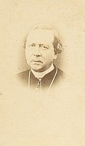 Mgr Place Marseille ArchBishop Catholic CDV Photo 1860