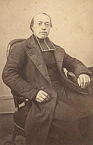Mgr Freppel Catholic Writer Teacher CDV Photo 1860