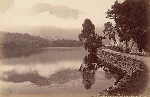 Loch Katrine Scotland UK Old Valentine Photo 1875