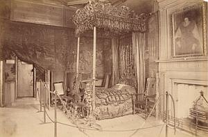 Holyrood Palace Scotland UK Old Valentine Photo 1875