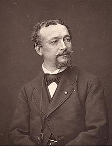 Painter Edouard Dubufe France Old Mulnier Photo 1875