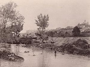 Madrid San Isidro View Spain Hauser & Menet Photo 1890