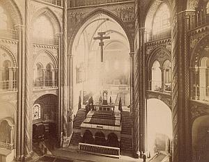 Koln St Gereon Church Interior Germany Old Photo 1890