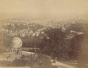 Wiesbaden Panoramic View Germany Old Photo 1890