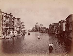 Venezia Grande Canale Animated Italy Old Photo 1880