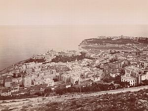 Monte Carlo General VIew France Old Gilletta Photo 1900