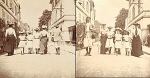 Front & Back Family Mise en Scene 2 Snapshot Photo 1903