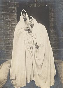 The Two Ghosts Drapery Study Snapshot Photo 1903
