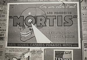 France Paris Publicity Mortis Study Snapshot Photo 1946